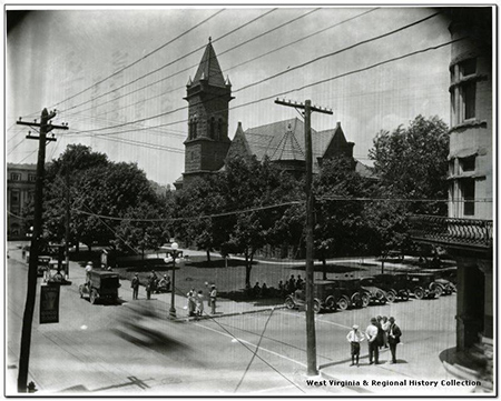Barbour County Courthouse in 1927.